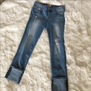 Hudson cropped jeans size 24